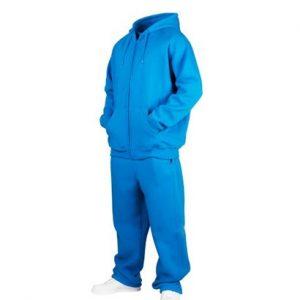 Wholesale Aqua Blue Sweat Suit for Men