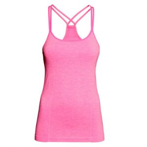 Candy Pink Yoga Top Wholesale