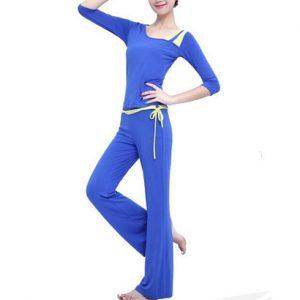 Wholesale One-piece Blue Yoga Wear For Women