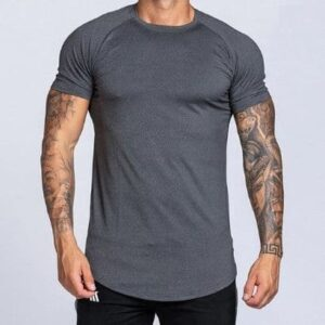 wholesale polyester spandex t-shirt
