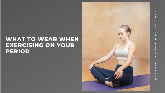 exercise clothing wholesale