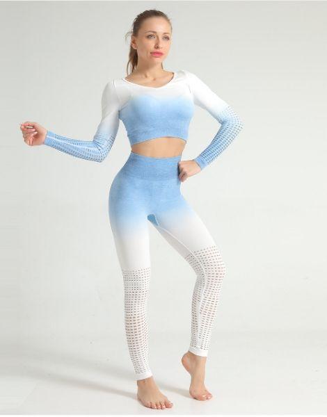 Custom Tie-dye Print Women Fitness Sets