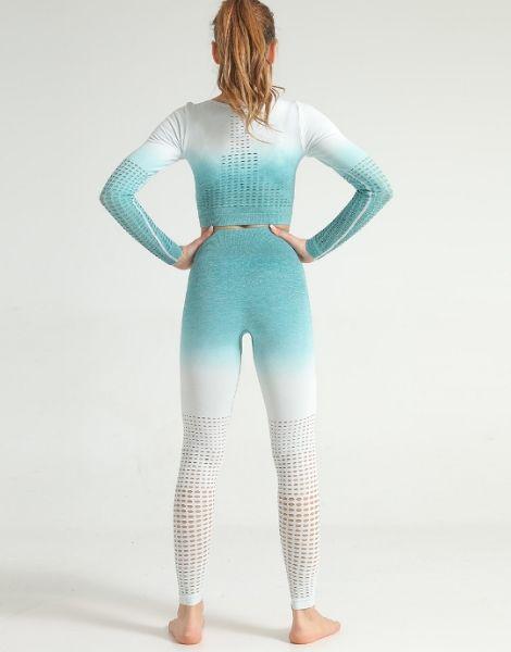 Tie-dye Print Women Fitness Sets Manufacturers