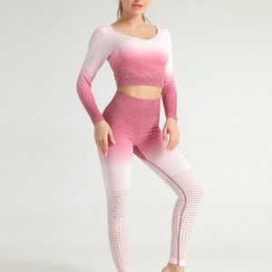 Wholesale Tie-dye Print Women Fitness Sets Australia