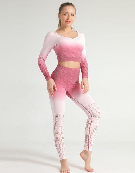 Wholesale Tie-dye Print Women Fitness Sets Australia