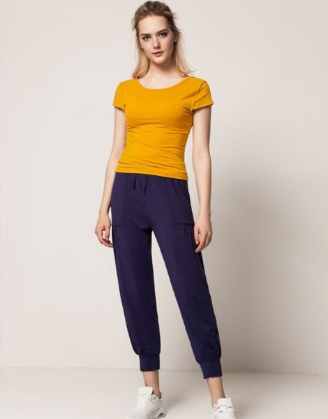 Wholesale Yellow Fitness Clothes