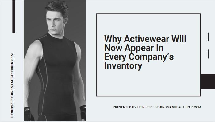 activewear manufacturer