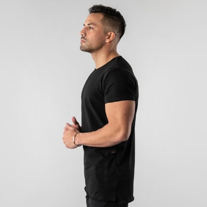 Bulk Black Workout T-shirt For Men