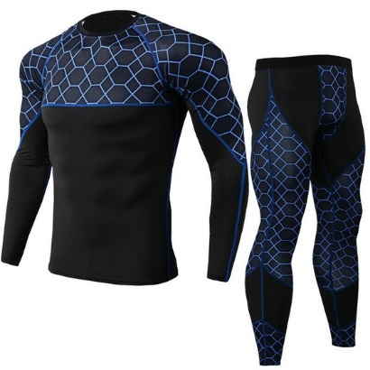 custom bulk men gym tracksuits blue