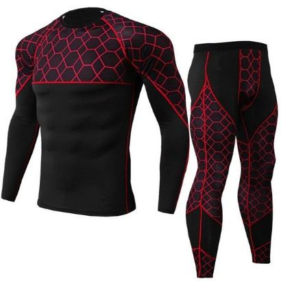 custom men gym tracksuits red manufacturer