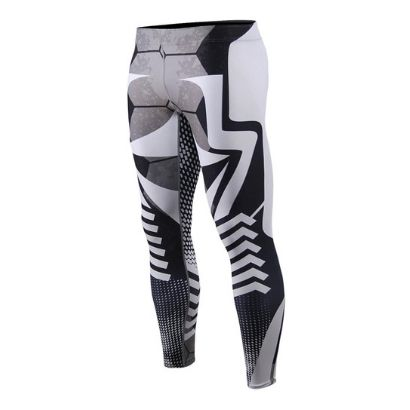 men running sublimation manufacturer tights jogging sport pants fitness wear