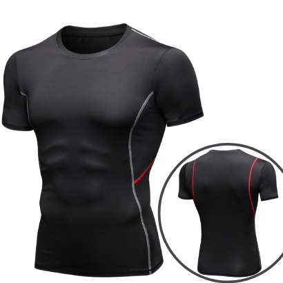 new design activewear muscle fit athletic wear manufacturer