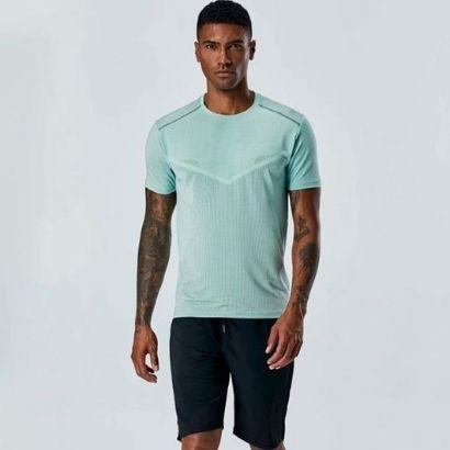wholesale activewear polyester t shirts set