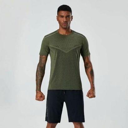 activewear polyester t shirts set manufacturer