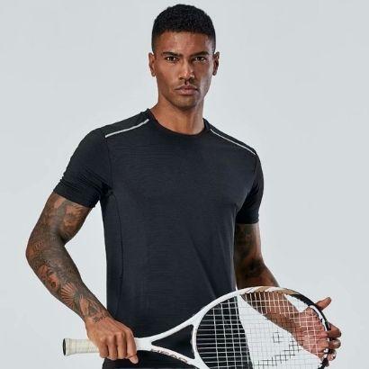 bulk activewear polyester t shirts set
