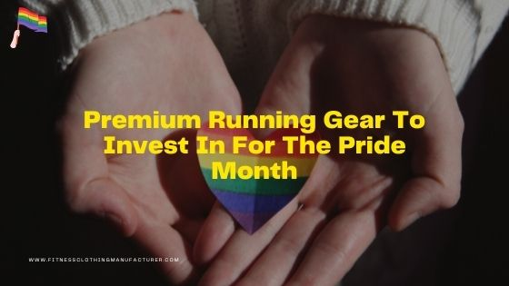 premium running gear for pride month