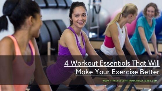 workout essentials wholesale