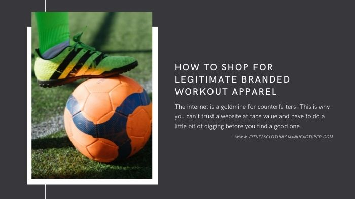 branded workout apparel wholesale